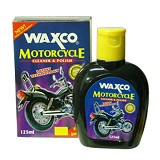 WAXCO Motorcycle Cleaner & Polish [WX 125 MC] - Pengkilap Motor / Wax